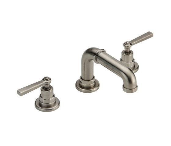 Saint-Germain | Rim mounted 3-hole basin mixer de THG Paris | Grifería para lavabos