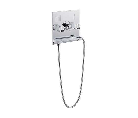 So | Thermostatic shower mixer trim by THG Paris | Shower controls