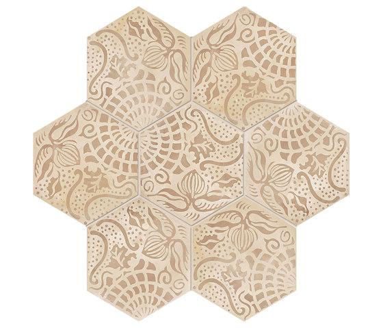 Terra | Floreale Vers.C de Marca Corona | Baldosas de cerámica