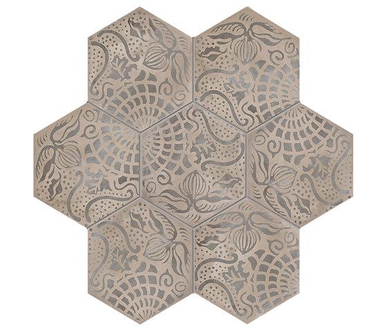 Terra | Floreale Vers.F de Marca Corona | Baldosas de cerámica