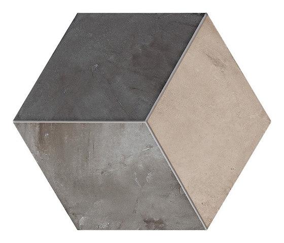 Terra | Rombo Vers.F by Marca Corona | Ceramic tiles