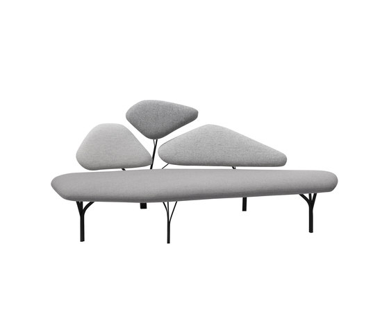 Borghese sofa | 2seaters by La Chance | Sofas