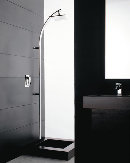 Moon Mono by Rubinetterie Zazzeri | Shower controls