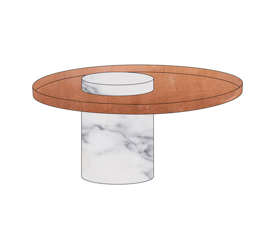 Salute low by La Chance | Side tables