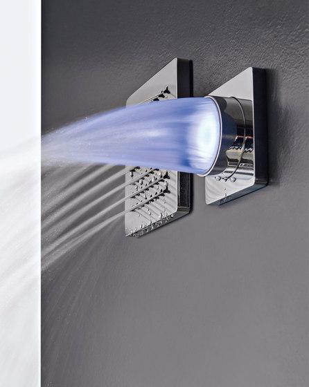 Qquadro by Rubinetterie Zazzeri | Shower controls