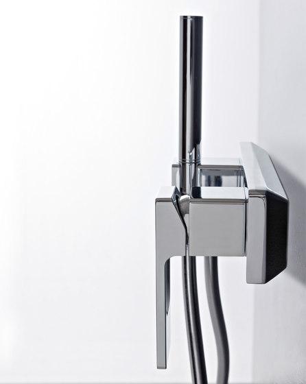 Qquadro by Rubinetterie Zazzeri   Bath taps