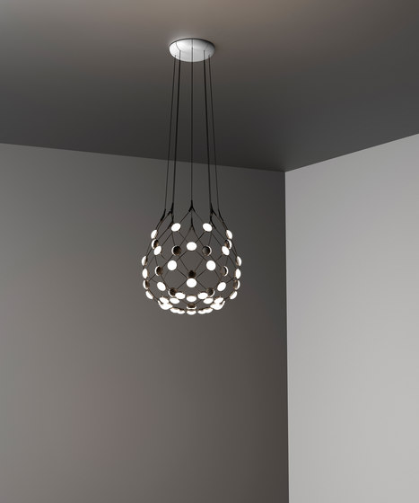 Mesh | Ø 55cm by LUCEPLAN | Suspended lights