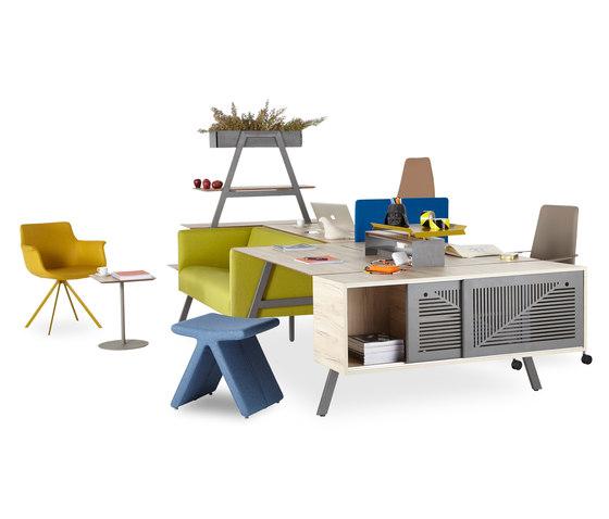 Office A System de B&T Design | Bureaux
