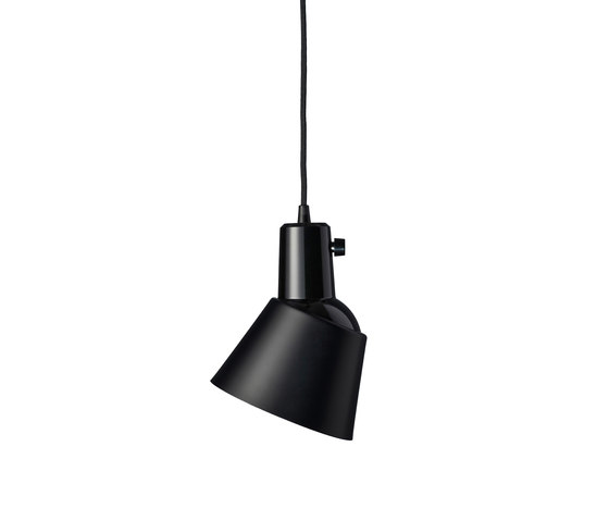 K831 | powder-coated | matte black de Midgard Licht | Lámparas de suspensión