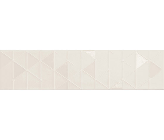Tone | White Geometric by Marca Corona | Ceramic tiles