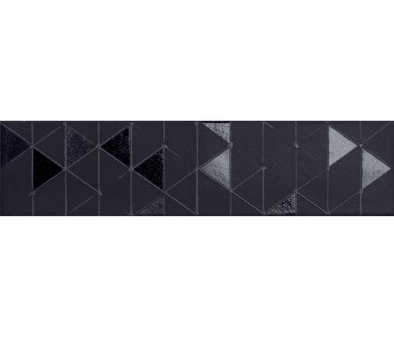 Tone | Black Geometric von Marca Corona | Keramik Fliesen