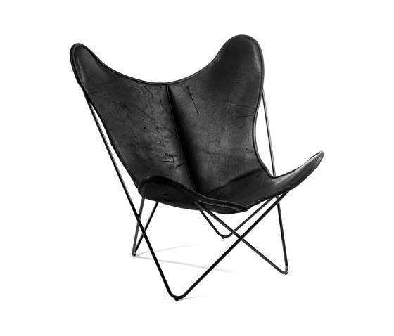 Hardoy | Butterfly Chair | Organic Buffalo Leather Pure Wild de Manufakturplus | Fauteuils