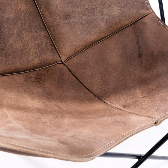 Hardoy | Butterfly Chair | Vintage Leather de Manufakturplus | Sillones