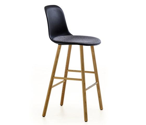 Máni Plastic ST-4WL by Arrmet srl | Bar stools