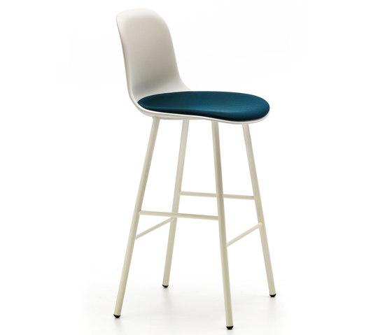Máni Plastic ST-4L PLUS by Arrmet srl | Bar stools
