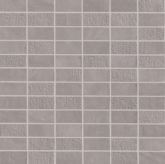 Work | Grey 72 Tessere di Marca Corona | Piastrelle ceramica