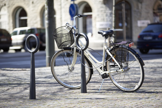 Hoop bicycle stand by nola | Bicycle stands