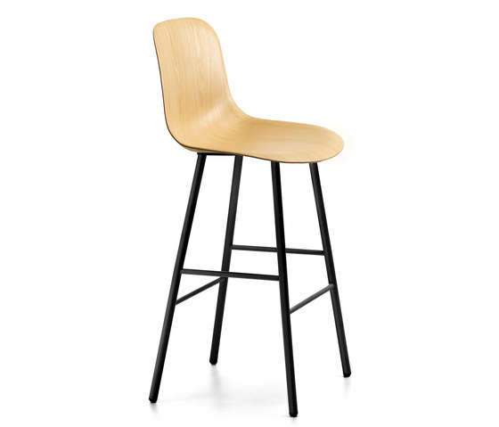 Máni Wood ST-4L PLUS by Arrmet srl | Bar stools
