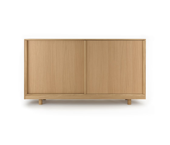 Sideboard with Sliding Doors Natural Oak by Bautier | Sideboards