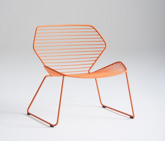 Ginkgo Wire Lounge de Davis Furniture | Sillones