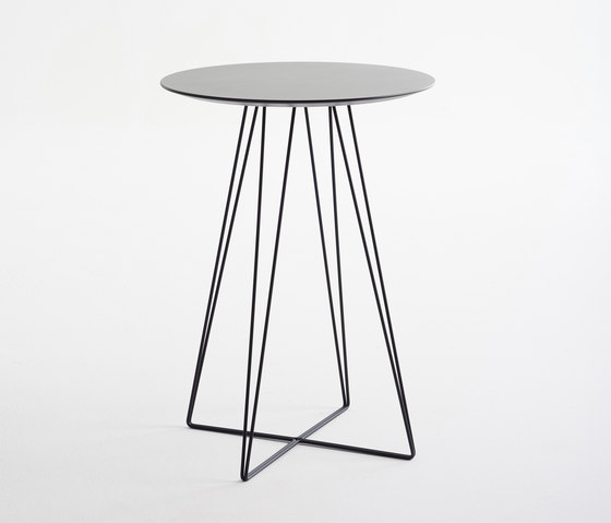 Ginkgo Wire Table de Davis Furniture | Mesas altas