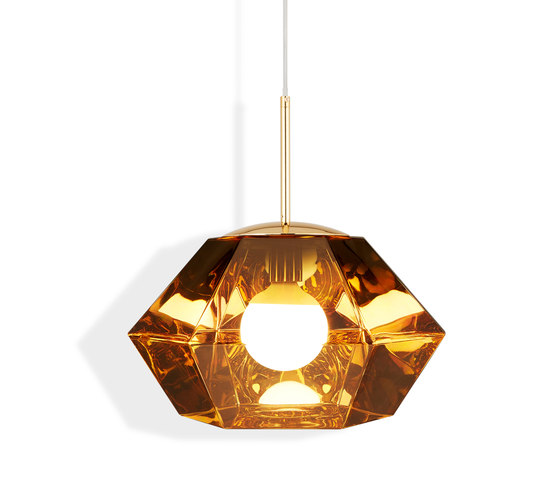 Cut Short Pendant Gold by Tom Dixon | Suspended lights
