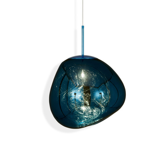 Melt Pendant Blue by Tom Dixon | Suspended lights