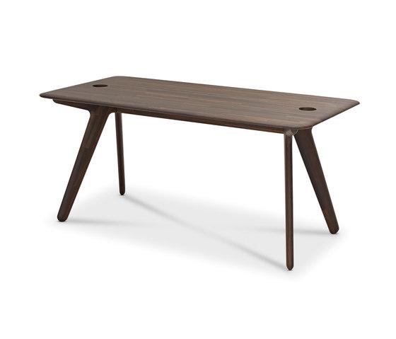 Slab Individual Desk Large Natural Oak de Tom Dixon | Mesas comedor