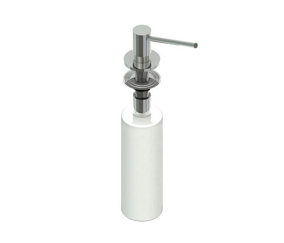 Aquaeco | IX304 Deck Mounted Soap Dispenser by BAGNODESIGN | Soap dispensers