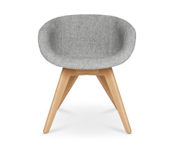 Scoop Chair Low Back Natural Leg di Tom Dixon | Sedie