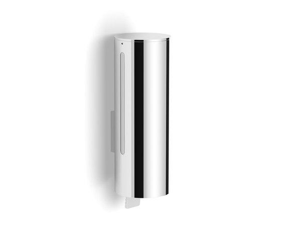 Aquaeco | Soap Dispenser Wall Mounted Liquid Soap Dispenser Removable Fixing by BAGNODESIGN | Soap dispensers