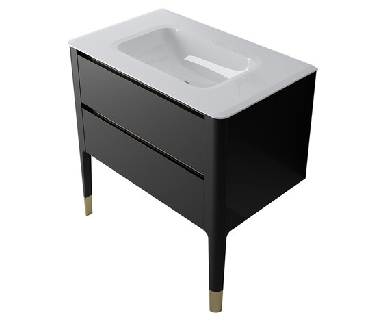 Art | Floor Standing Vanity Basin Unit by BAGNODESIGN | Vanity units