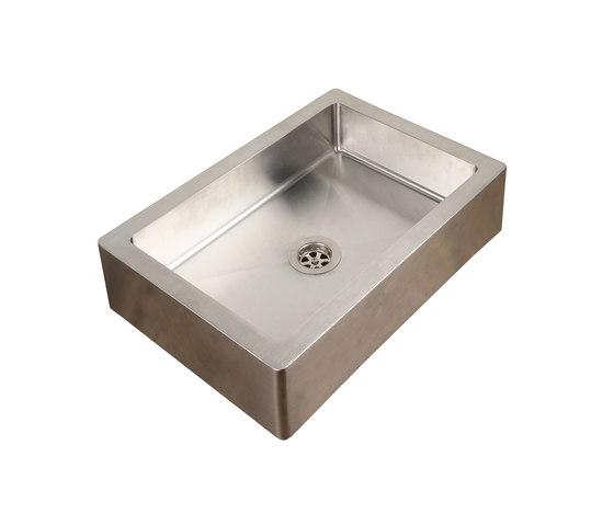IX304 | Countertop Single Bowl Basin by BAGNODESIGN | Kitchen sinks