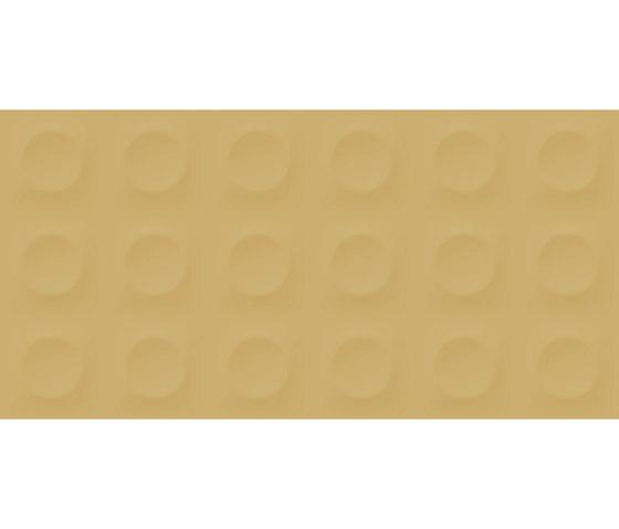 Bold | Mustard Round di Marca Corona | Piastrelle ceramica