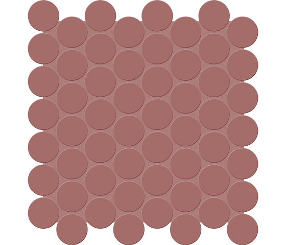 Bold | Marsala Tess. Round di Marca Corona | Mosaici ceramica