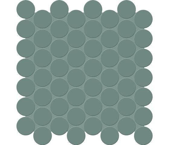 Bold | Sage Tess. Round by Marca Corona | Ceramic mosaics