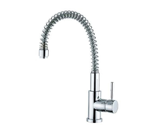M Line   Kitchen Sink Mixer With Spring Spout by BAGNODESIGN   Kitchen taps