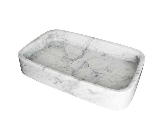 M Line | Countertop Wash Basin 580mm by BAGNODESIGN | Wash basins