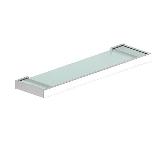 Metreaux   Wall Mounted Glass Shelf by BAGNODESIGN   Bath shelves