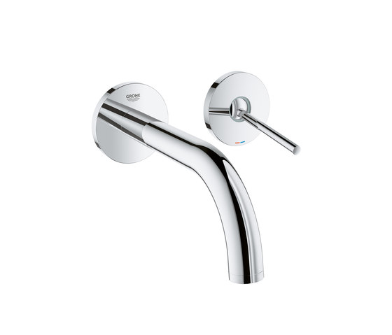 Atrio Two-hole basin mixer M-Size 180mm joystick by GROHE | Wash basin taps