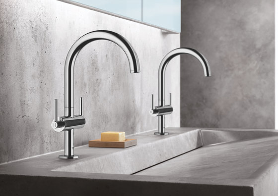 """Atrio One-hole basin mixer 1/2"""" L-Size lever handle by GROHE 