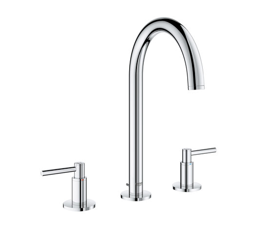"""Atrio Three-hole basin mixer 1/2"""" L-Size deck mounted by GROHE 