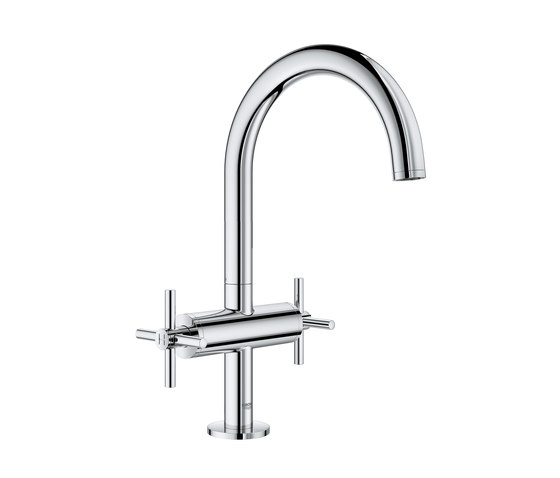 """Atrio One-hole basin mixer 1/2"""" L-Size cross handle by GROHE 