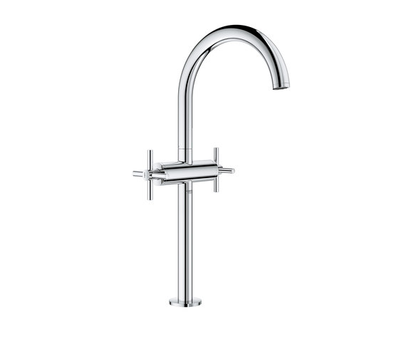 "Atrio One-hole basin mixer 1/2"" XL-Size cross handle by GROHE 