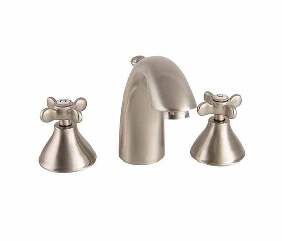 Princess Nouveau | 3 Hole Basin Mixer With Pop-Up Waste by BAGNODESIGN | Wash basin taps