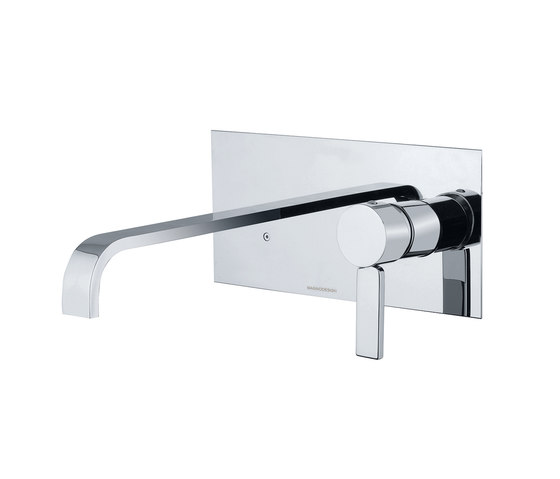 Smooth | Concealed Basin Mixer by BAGNODESIGN | Wash basin taps