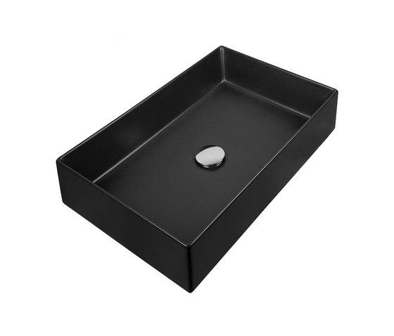 Stratos | Countertop Basin 450X380mm by BAGNODESIGN | Wash basins