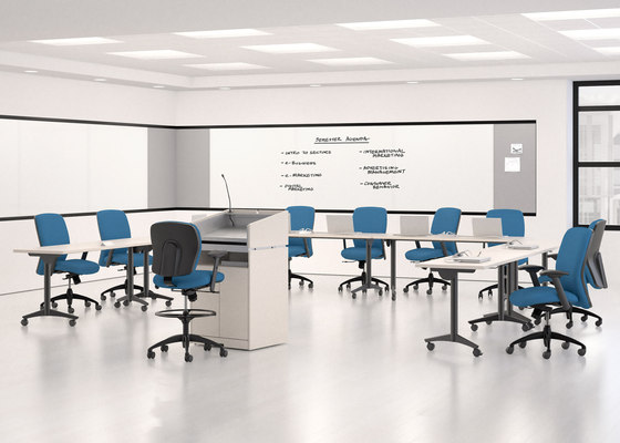 WaveWorks Table di National Office Furniture | Tavoli contract