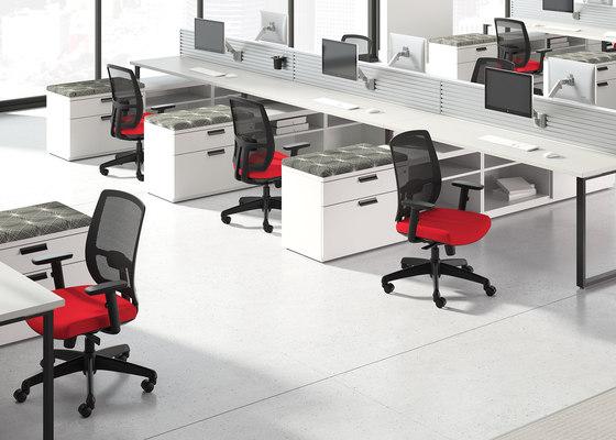 WaveWorks Desk by National Office Furniture | Desks