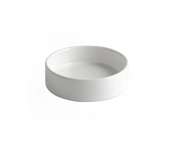 Toko | Wall Mounted Ceramic Soap Dish by BAGNODESIGN | Soap holders / dishes